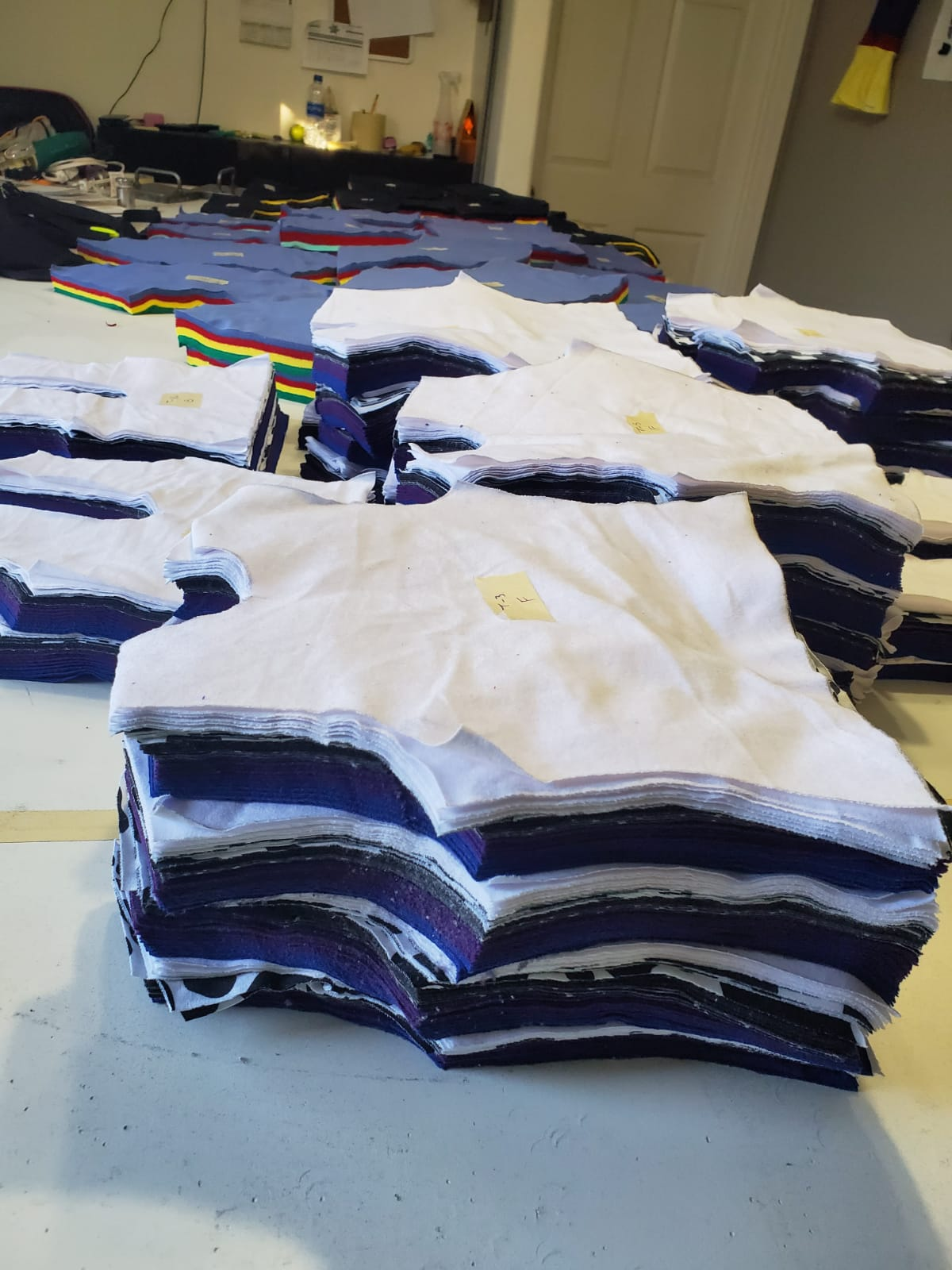 Cut and Sew Process | Deliver Quality made finish Product |3m3 Creations